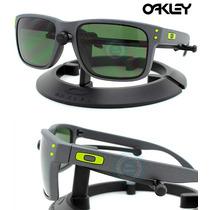 Lentes Oakley Holbrook 9102 -38 Steel - Dark Grey Original