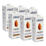 Leche Almendras Amande Pack X6u