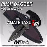 Push Dagger Mtech Usa, Cuchillo Daga De Puño Manopla Puñal