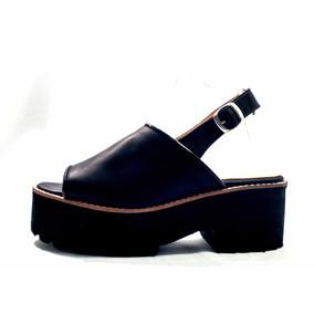 Sandalias Mujer Sam123 Cuero Talles Grandes Gomon Sueco
