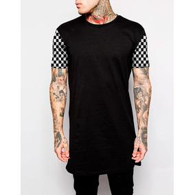 Camiseta Camisa Oversized Dollar Swag Long Line Lisa Rosas 93d9ae85eada1