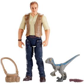Jurassic World - Figuras Básicas - Owen & Blue Filhote Fmm01