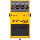 Pedal De Efecto Boss Od-1x Overdrive Od1x P/ Guitarra