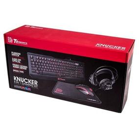 Combo Thermaltake Ttesports Knucker Tec Mouse Auri Pad Venex