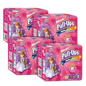 Caja De Pull Ups Noche Y Día E5 Niña Paq. 25 - 100 Pañales