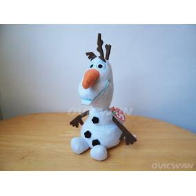 Peluche De Sparkle Olaf 17 Cm Frozen Disney Dy96