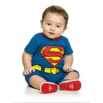 Body Infantil Super Homem Personalizado