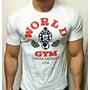 Remeras Hombre 100% Algodon Premiun Unicas! World Gym