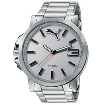 Relógio Analógico Puma Uiltrasize, Aço, 10 Atm 96216g0pmna2