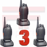 3 Radio Comunicador Baofeng Bf-777s Walkie Talk Ht Talkbout