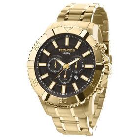 Relógio Technos Cronógrafo Tam Grande Os20is/4p Original
