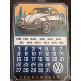 Vw Última Edición Calendario Metálico Nuevo (importado)