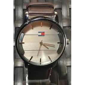 Relógio Masculino Tommy Hilfiger Pulseira De Couro Marrom