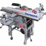 Maquina Combinada De Carpinteria 3hp 7 Funciones Escuadrador