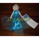 Elsa Princesas Frozen Peluche Habla En Ingles 22 Cm