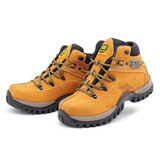 Bota Coturno Adventure Caterpillar Tenis + Palmilha Gel