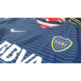 Camiseta Nike Boca Juniors Alternativa 2017 Niños Talle 4