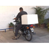 Caja Para Moto Repartidora De Fibra De Vidrio