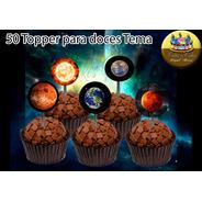 50 Topper Para Doces Universo Planetas Sistema Solar E Lua