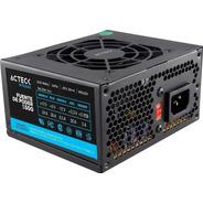 Fuente Poder Acteck Slim Micro Atx 500 W 20+4 Pines Es-05002