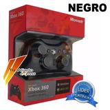 Control Alambrico Dualshock Negro Microsoft Xbox 360 Punto V