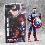 Capitan America Civil War Crazy Toys No Hot Articulado 25cms