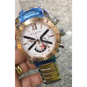 a1a237cc2a1 Relogio Faustao Masculino Bvlgari - Relógio Bvlgari Masculino no ...