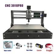 Cnc 3018 Pro Grabador Láser Acero,aluminio Y Madera Er11 10w