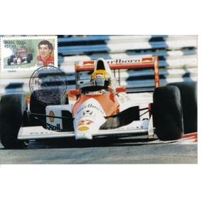 Maximo Postal Ayrton Senna Carro 27