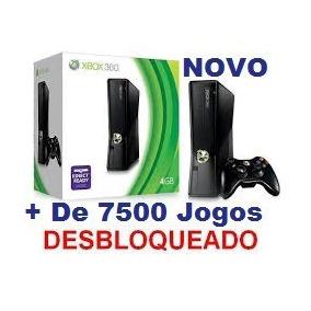 Xbox Hd500gb Desbloqueado +d7500 Jogos A Escolha Novo Lacrad