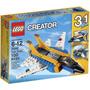Lego Creator Super Soarer Avion 3 En 1 31042 100 Pzs