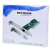 Placa De Rede 10/100mbps Pci Chipset Realtek