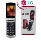 Celular Lg G360 Flip Teclado E Tela Giante Camera Dual Sim