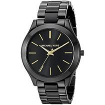 Relógio Michael Kors Mk3221 Preto Fino Original Promoção