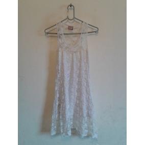 Vestido Branco Renda Forrado Cód. V75
