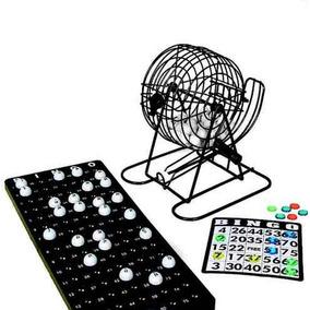Jogo De Bingo Com Globo Tabuleiro E Bolas E Cartelas Complet