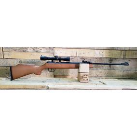 Potente Rifle Optimus Crosman Calibre 5,5 Con Mira 4x32 Reso