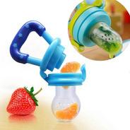 Chupete Alimentador Mordedor Frutas Alimentos Frescos