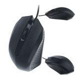 Mouse Generico Diseño Elegante + Hub De 4 Puertos