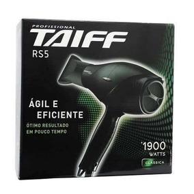 Secador De Cabelos Taiff Rs5 1900w - Voltagem 127volts