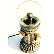 Esfera De Plasma Bola Cupido Escultura Anjos Anjinhos 25cm