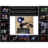 Proyector Figuras Led, Para Intemperie.