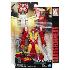 Transformers Titan Wars Deluxe Hot Rod