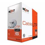 Rollo De Cable Utp Categoria 6 Nexxt Cat6 305 M. Certificado