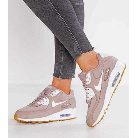 Womans Nike Air Max 90 Diffused Taupe/white - Gum Light Brow