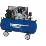 Compresor 2 Hp Gamma A Correa Tanque 100l Monofasico