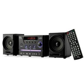 Mini System Caixa De Som Com Dvd Player Usb 30w Rms