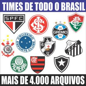 Vetores Escudos (brasões) Times De Futebol Clubes + Esportes