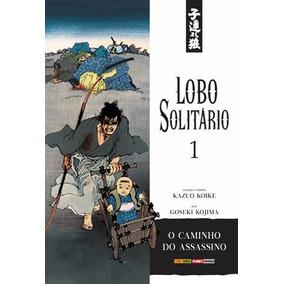Lobo Solitário 1 E 2 Mangás Novos Lacrados Panini Comics