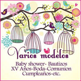 Invitacion Jaulas Vintage Baby Shower Xv Años